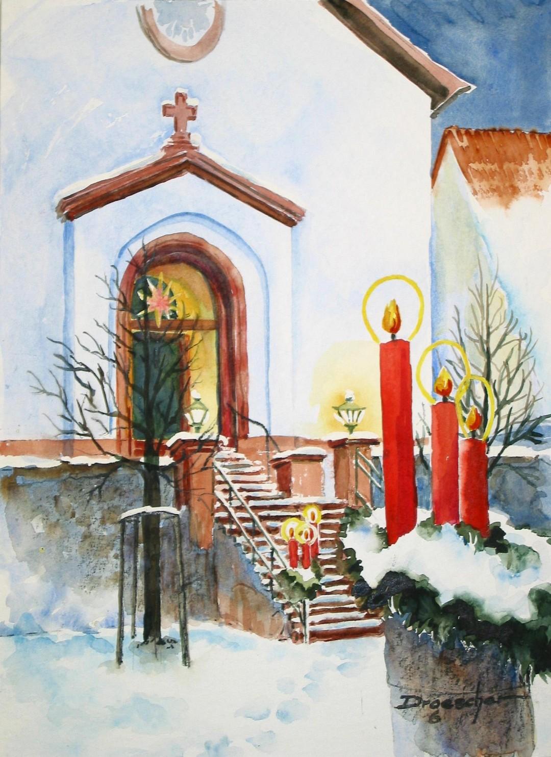 12 Dezember Gronau Kirchenaufgang 2006.jpg