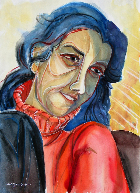 Frau in Rot 2004 01.JPG