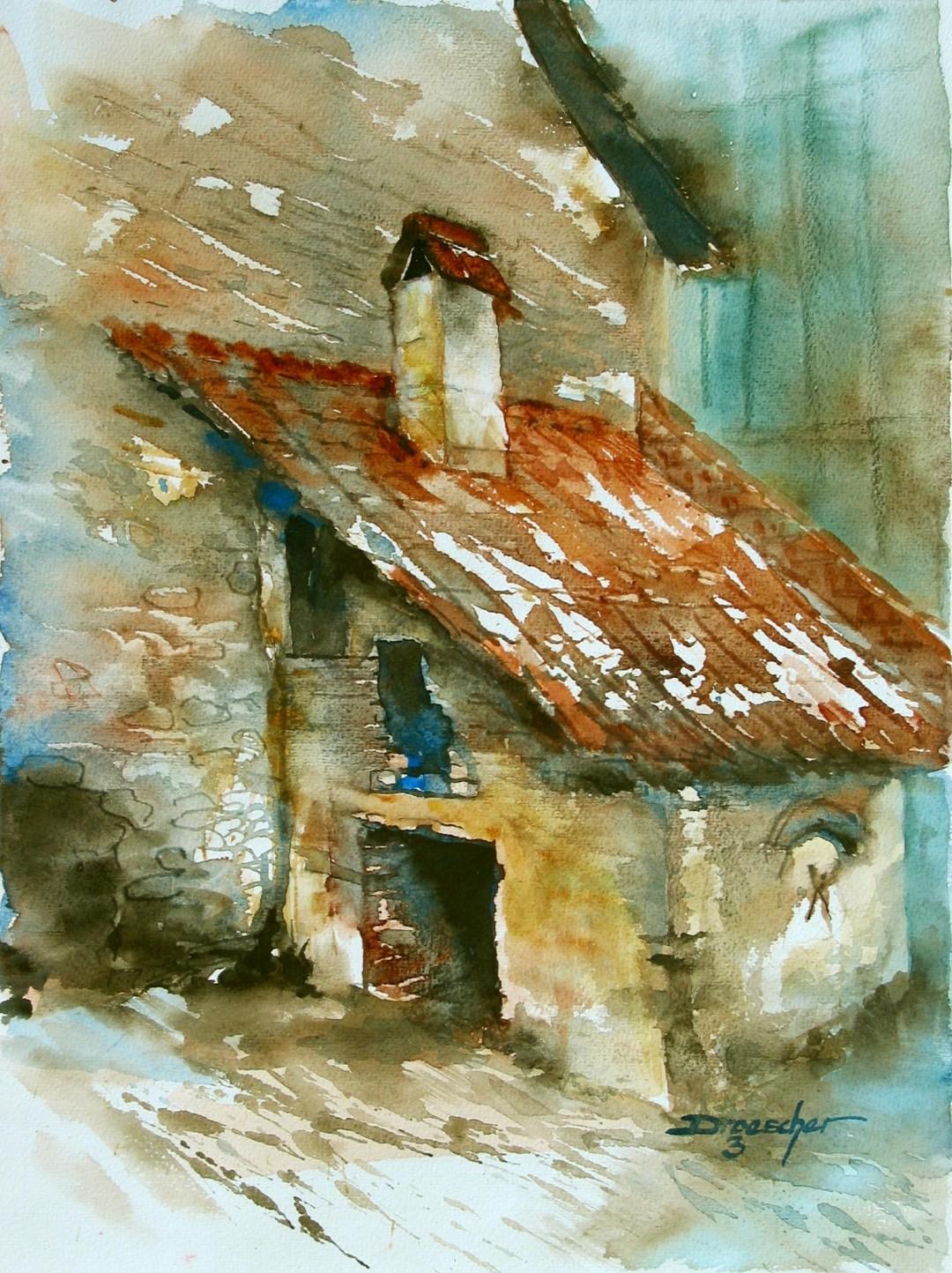 Gronau, altes Backhaus 2003 40x30.jpg