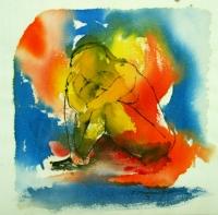 04 Dinge des Lebens -  Trauer 17 x17 2003 2003.jpg