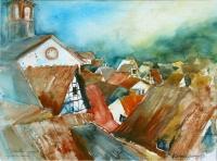 Dächer von Gronau 1997 36x48.jpg